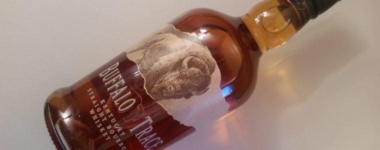 A bottle of Buffalo Trace