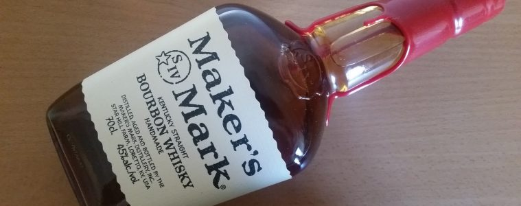 A bottle of Makers Mark