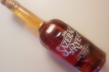 A bottle of Sazerac Ryw
