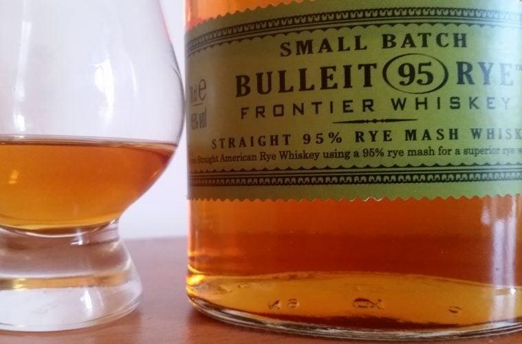 Bulleit 95 Rye bottle label