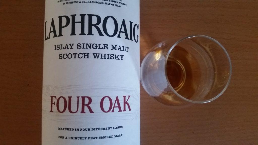 Laphroaig 4 Oak Label