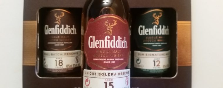 A miniature of Glenfiddich 15 Unique Solera Reserve