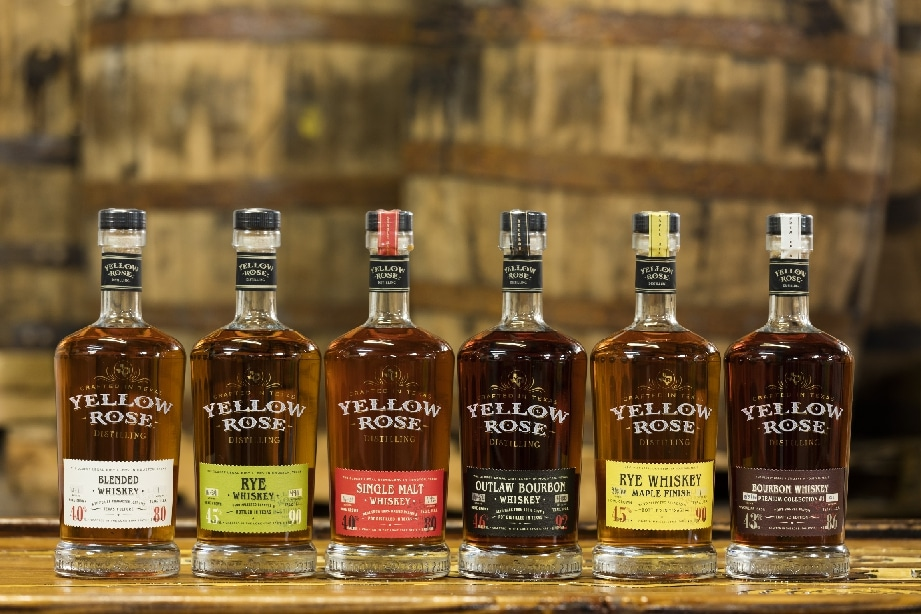 Yellow Rose Distillery Whiskey