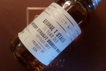 A small bottle of George T Stagg
