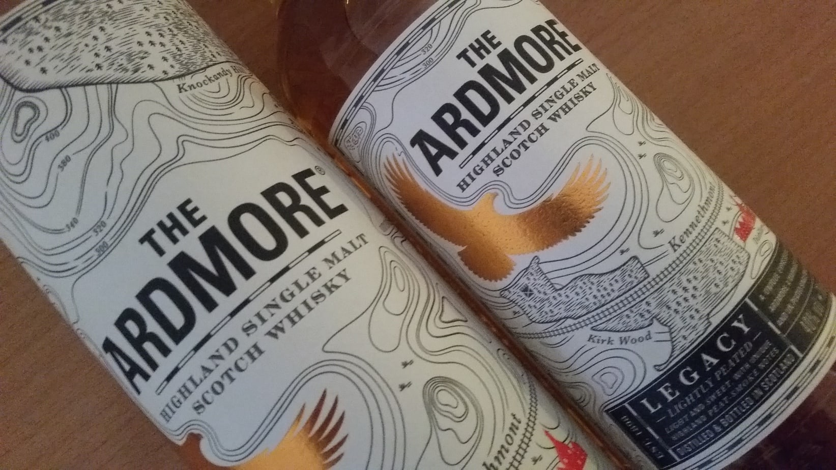A bottle and tube of The Ardmore Legacy