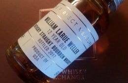 A small bottle of William Larue Weller
