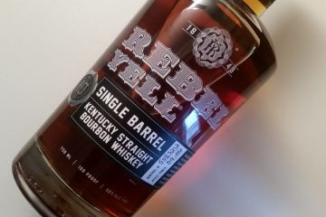 A bottle of Rebel Yell 10 Year Old whiskey