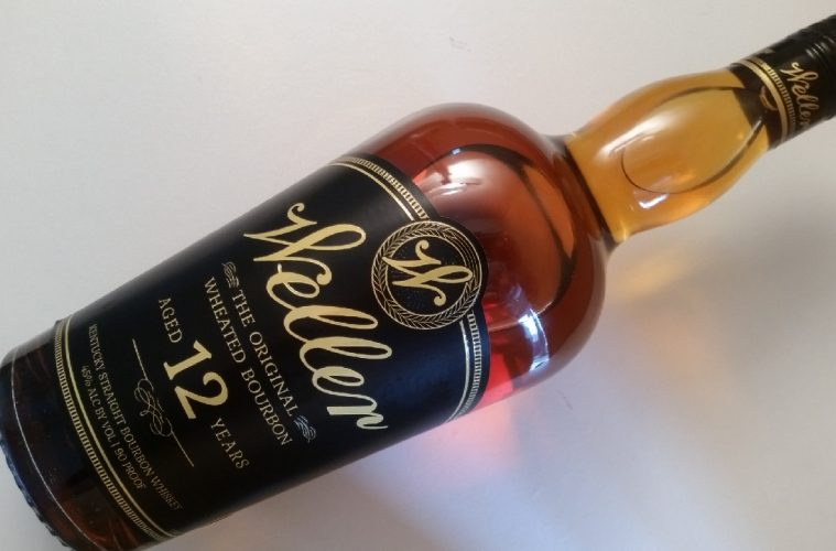 A bottle of W.L. Weller 12 Year Old bourbon