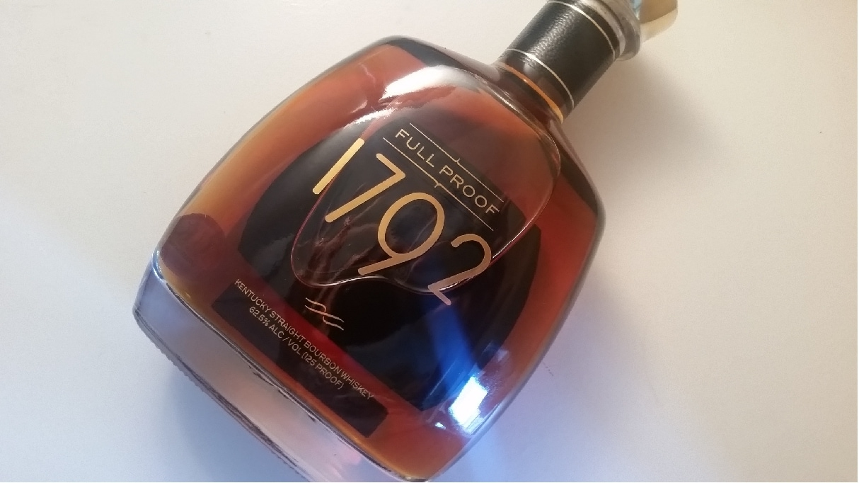 A bottle of 1792 full proof