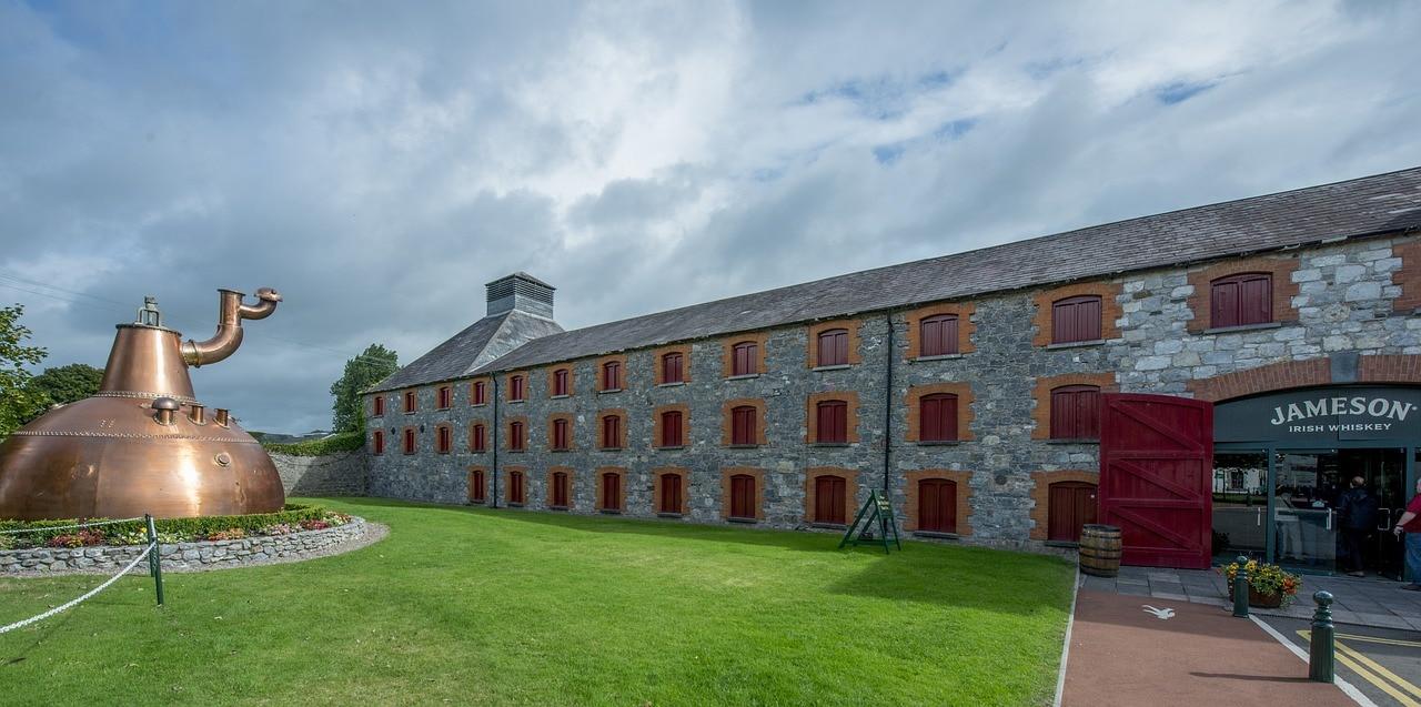 The Jameson's distillery in Ireland