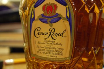 A Bottle of Crown Royal