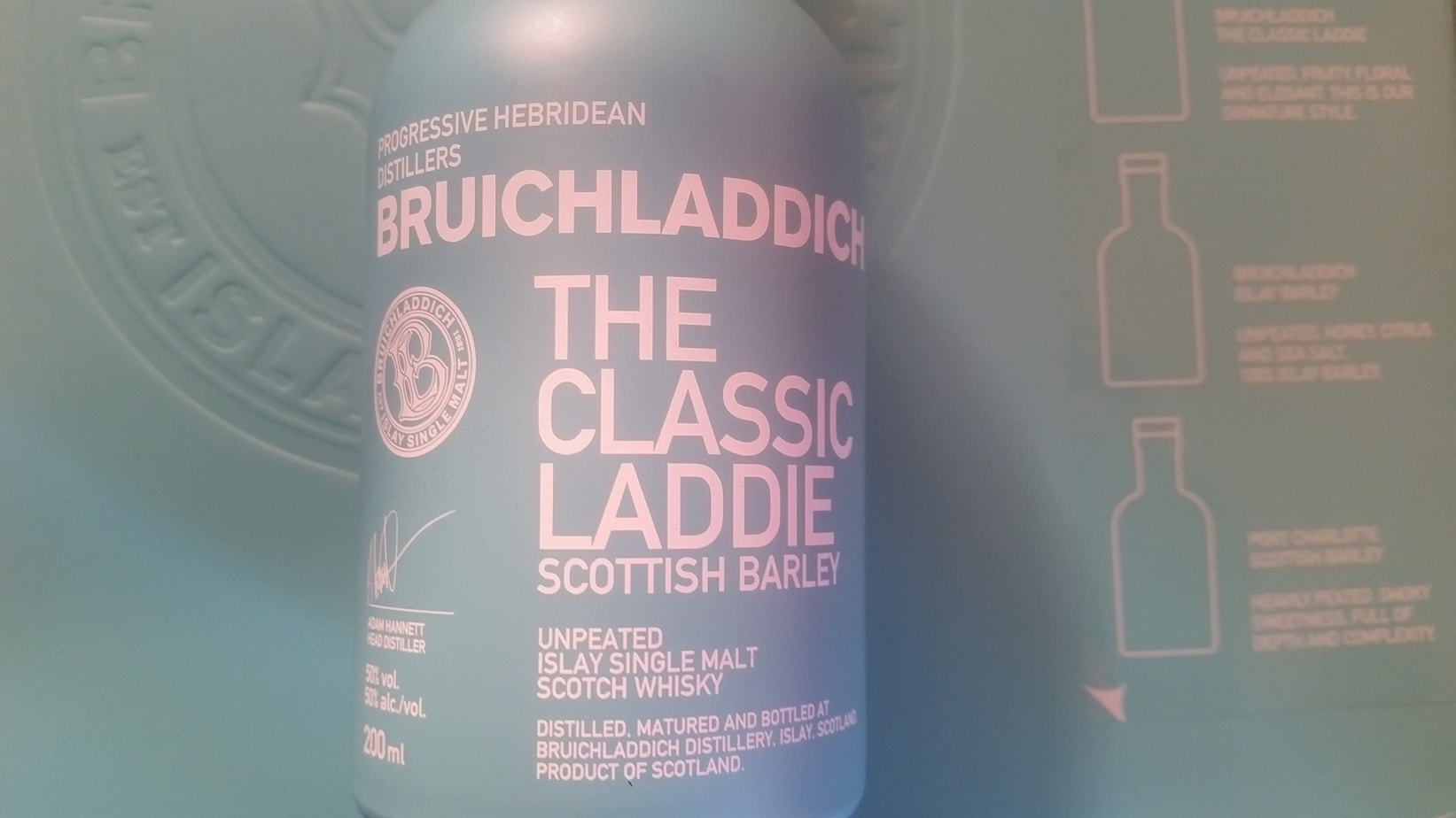 The Classic Laddie bottle and label