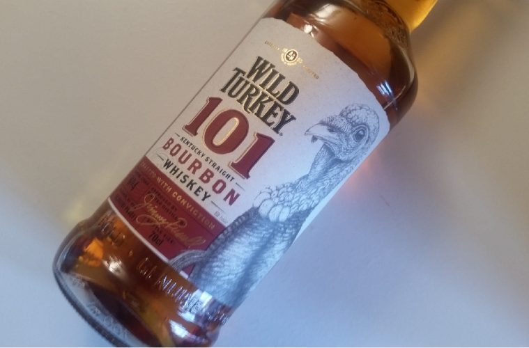 A bottle of Wild Turkey 101