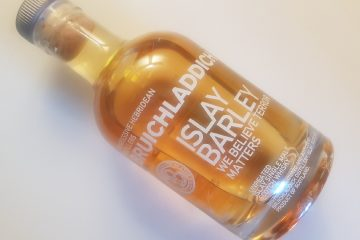 A bottle of Bruichladdich Islay Barley