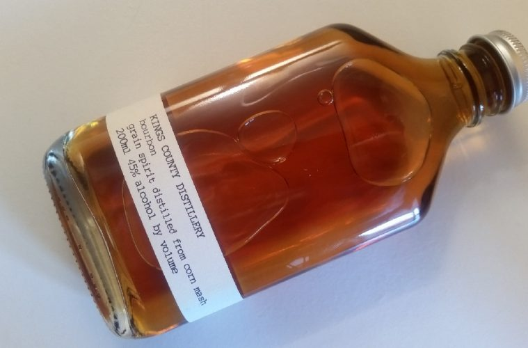 A bottle of Kings County Distillery Straight Bourbon
