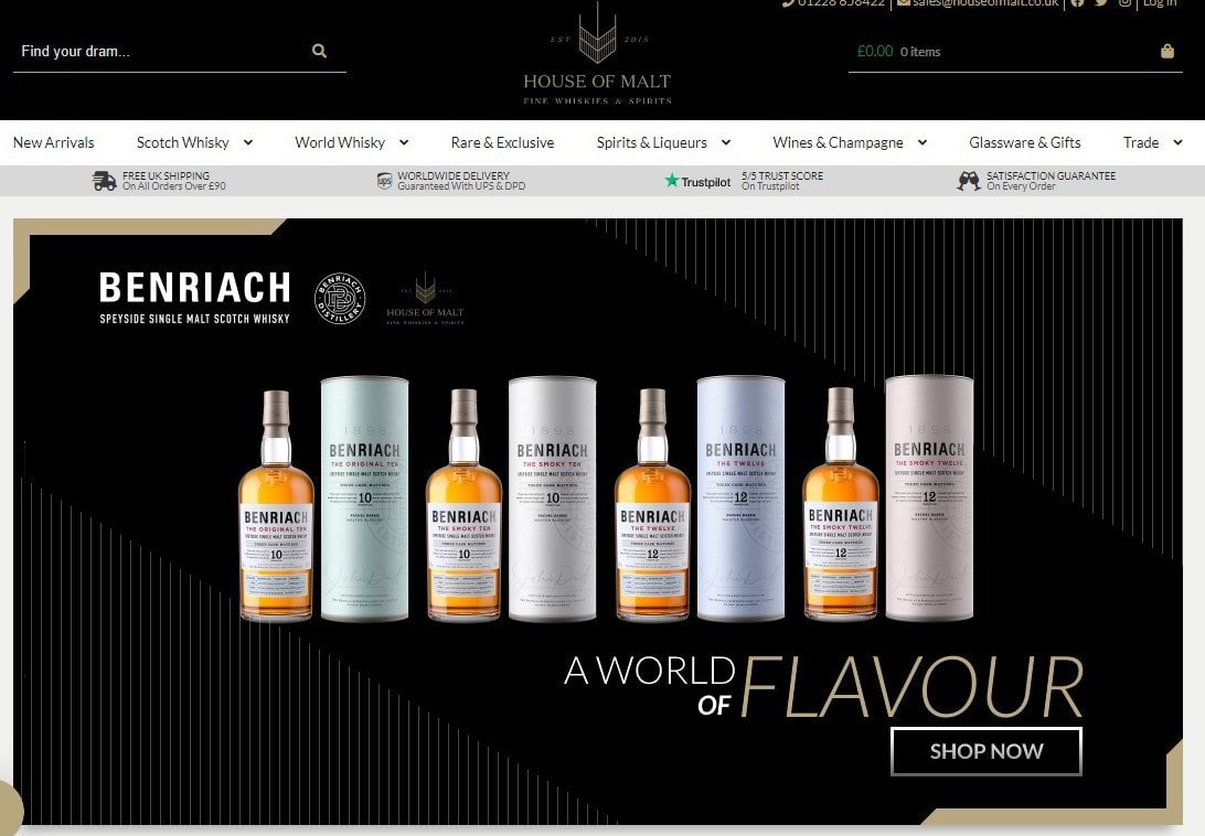 The House of Malt home page